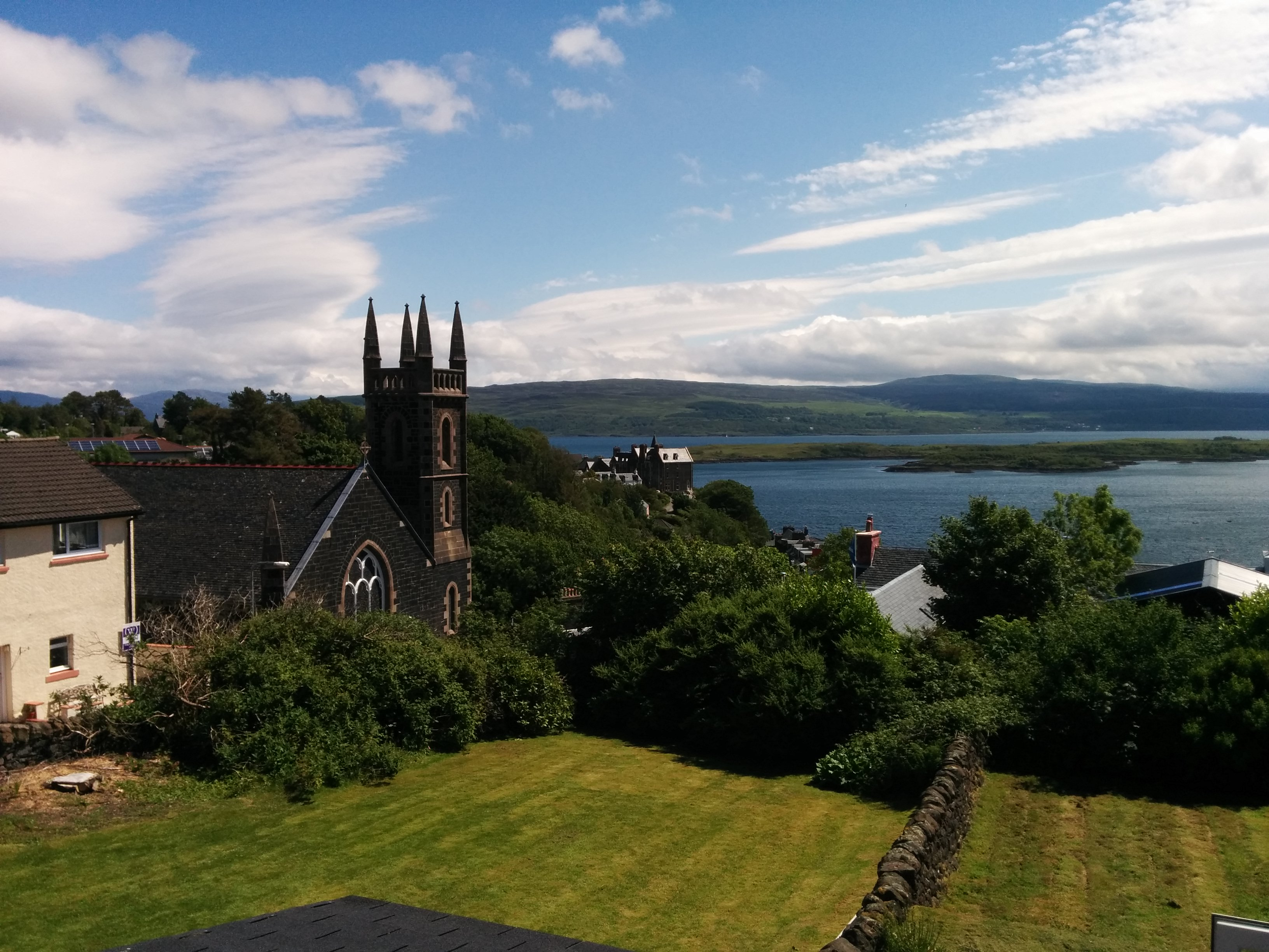 The View From The The Rowans, Tobermory