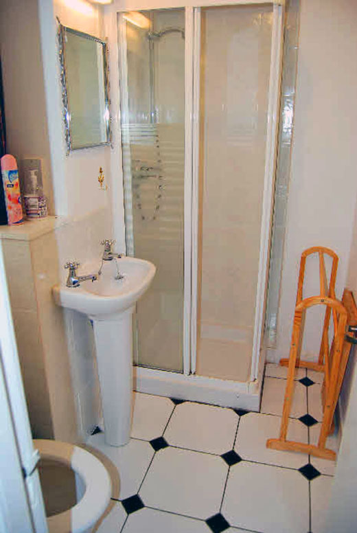 The Shower Room  in The Rowans, Self Catering, Tobermory